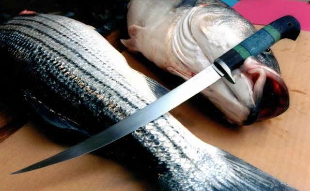 ніж для обробки риби
