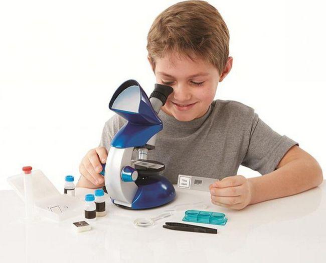 цифровий мікроскоп для школяра