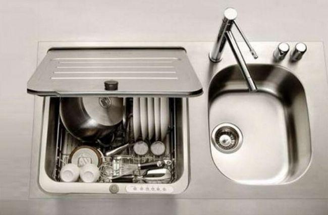 посудомийна машина маленька вбудована