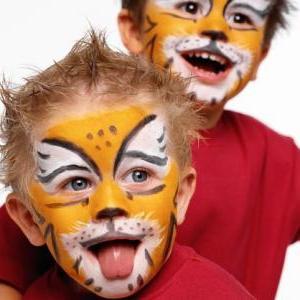 малюнки на обличчі для дітей