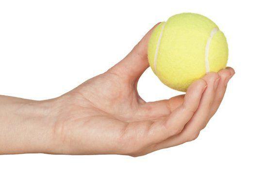 тенісний м`яч
