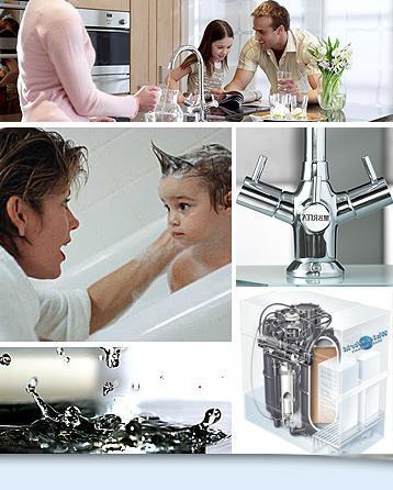 установка для пом`якшення води