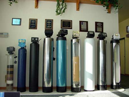 установки пом`якшення води